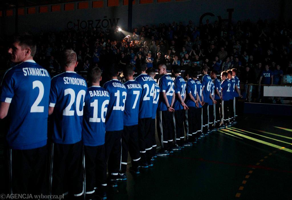 Prezentacja Ruchu Chorzów w hali MORiS przed rundą wiosenną