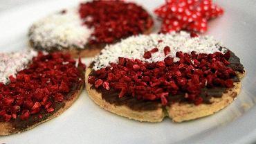 Słodkie Patriotki, ciastka upieczone z okazji Święta Niepodległości.