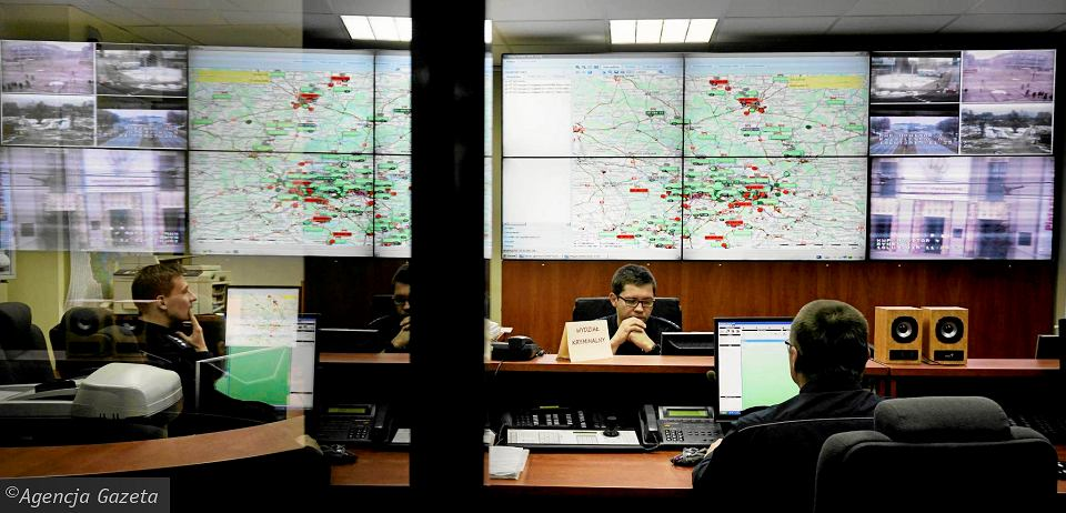 System monitorowania patroli policyjnych w komendzie wojewódzkiej w Katowicach