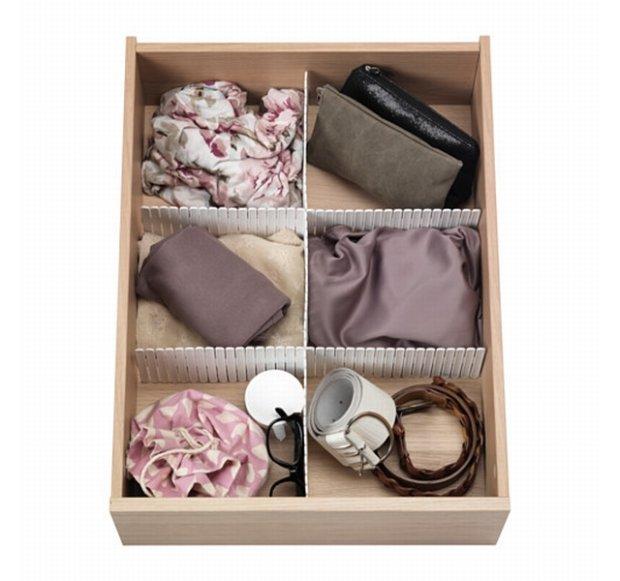 Przegródka do szuflady, Ikea, 5,99 zł za 3 sztuki