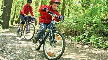 Jazdę na rowerze jako ulubioną formę aktywności wskazało 56 proc. badanych Polaków. Na drugim miejscu jest bieganie - 31 proc.