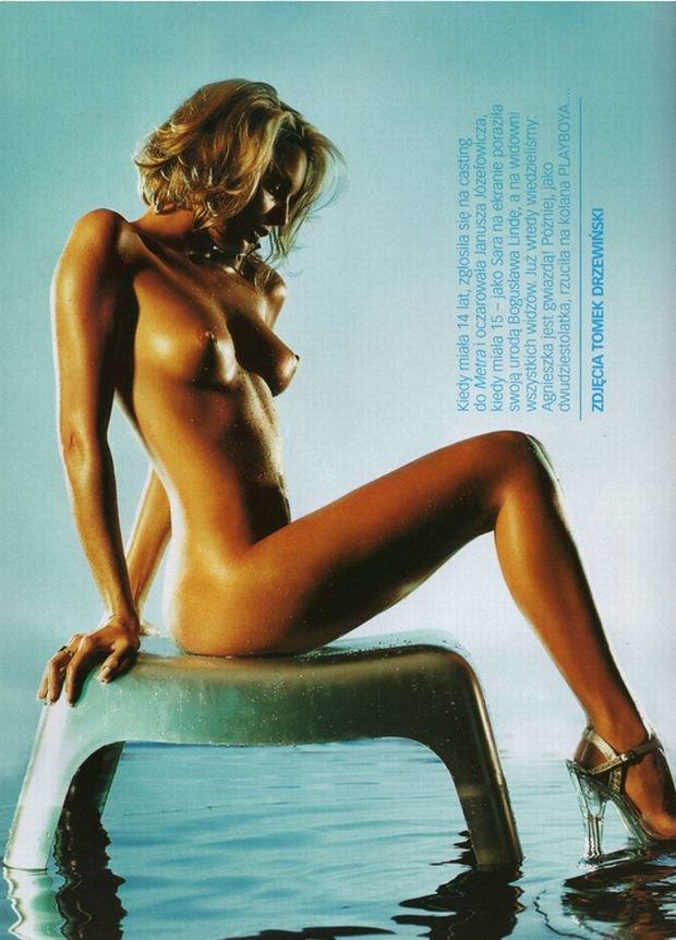 Agnieszka Włodarczyk, Playboy, wrzesień 2002.