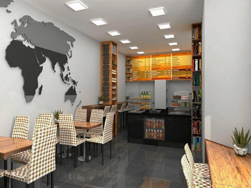 Coffeemoment w Opolu - tak ma wyglądać w nowym miejscu