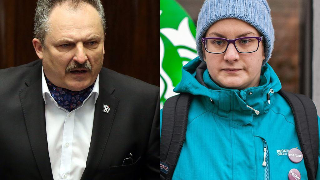 Marek Jakubiak i Justyna Samolińska
