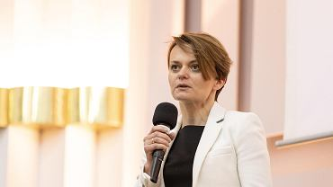Wicepremier i minister rozwoju Jadwiga Emilewicz