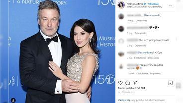 Żona Aleca Baldwina jest w kolejnej ciąży