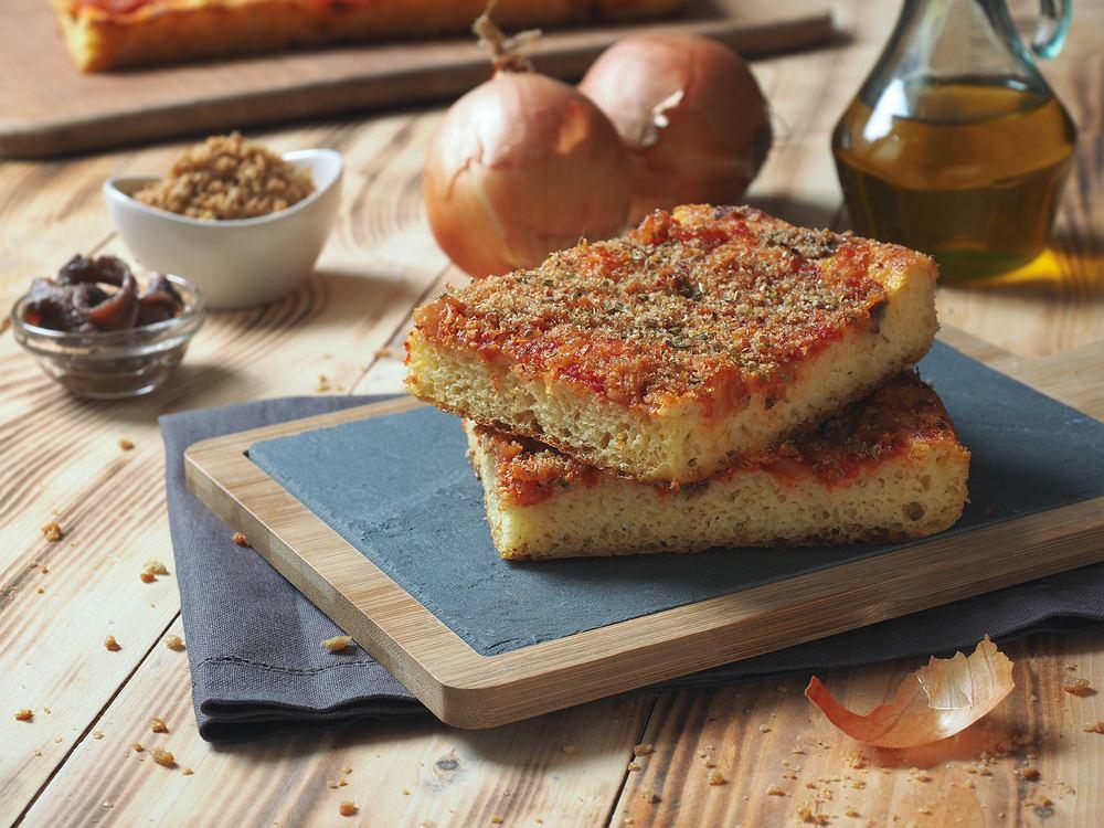 Sycylijska pizza sficione