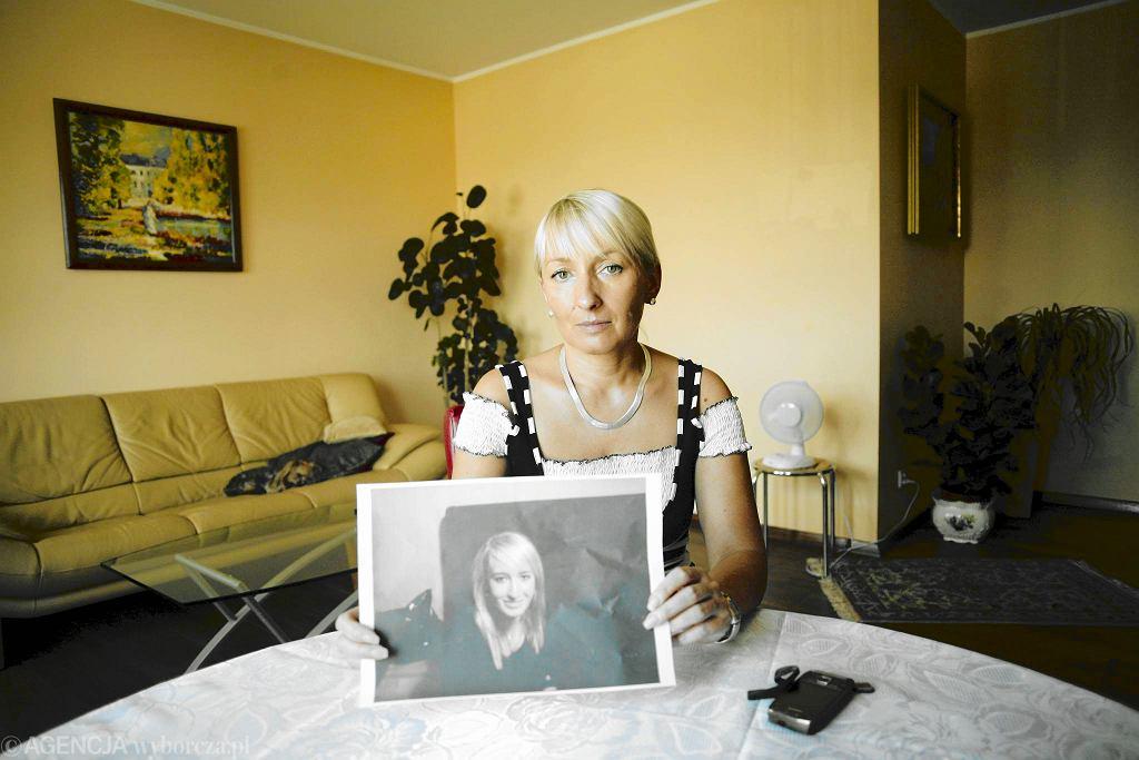Iwona Kinda-Wieczorek, matka Iwony ze zdjęciem córki