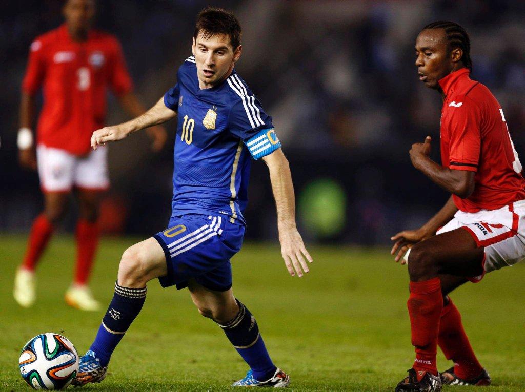 Leo Messi i Yohance Marshall
