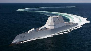 Niszczyciel typu Zumwalt - USS Zumwalt