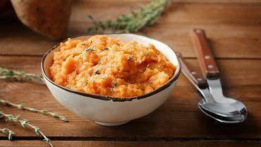 Puree z batatów będzie doskonale zastępowało tradycyjne puree z ziemniaków