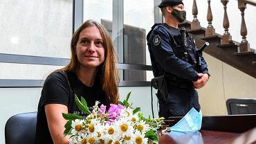 Swietłana Prokopiewa, dziennikarka 'Swobody' została absurdalnie oskarżona o terroryzm, gdy pytała o bezpieczeństwo obywateli