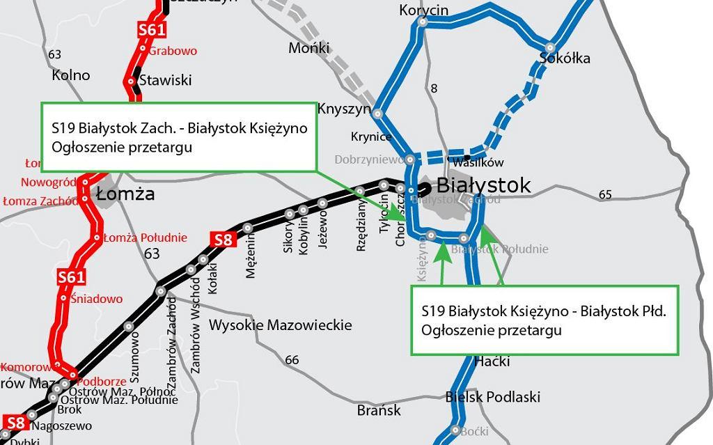 Droga ekspresowa S19, Południowa Obwodnica Białegostoku