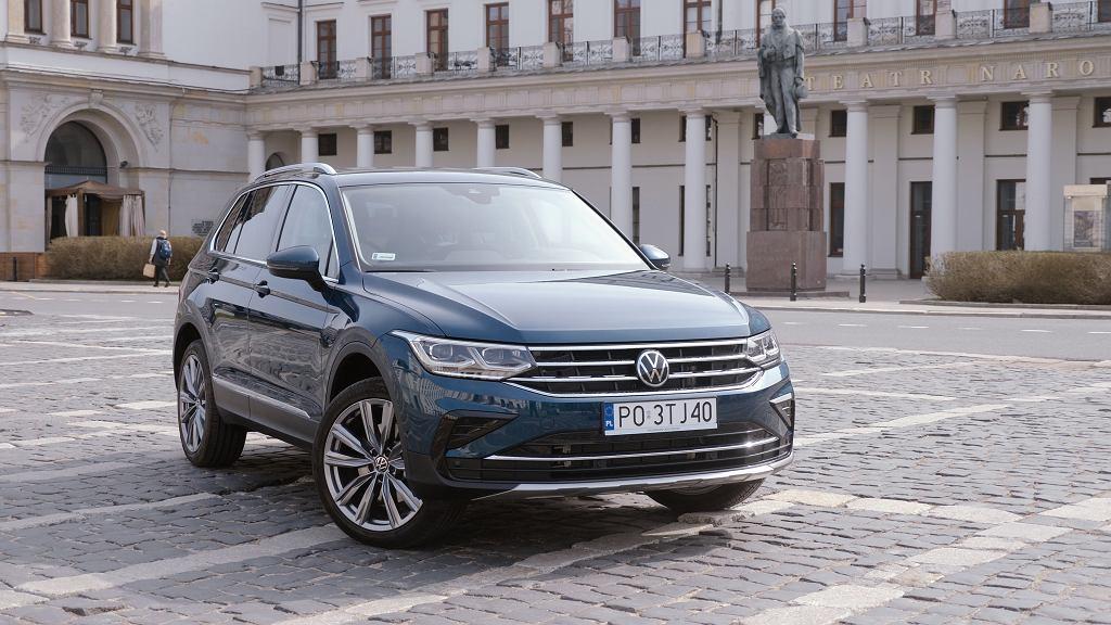 Volkswagen Tiguan eHybrid w interaktywnym teście