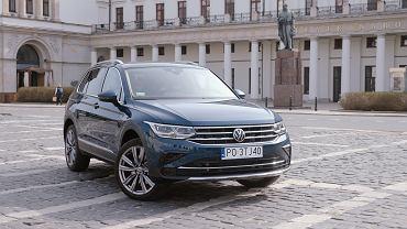 Volkswagen Tiguan eHybrid w interaktywnym teście Moto.pl. SUV nr 1 ma teraz wtyczkę
