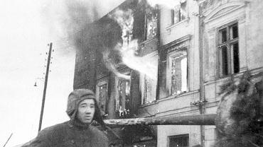 Festung Breslau w marcu 1945