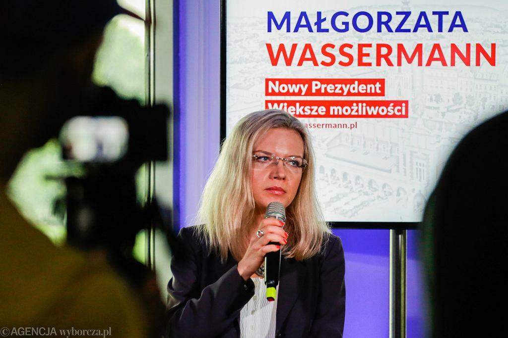 Wybory samorządowe 2018. Małgorzata Wassermann przedstawiła swoje hasło oraz program dla edukacji