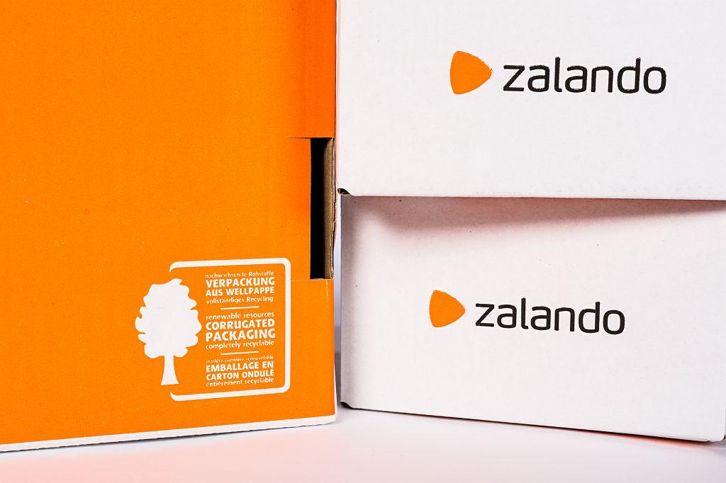 Nowe opakowania Zalando