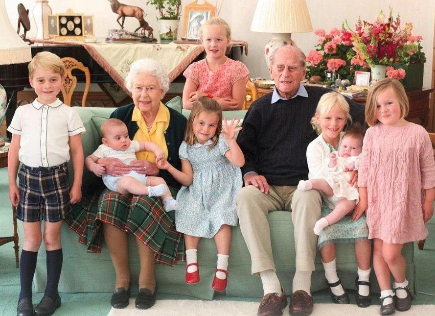 Imiona dzieci z rodzin królewskich
