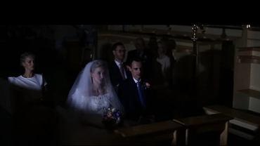 Burza w trakcie ślubu sprawiła, że zrobiło się romantyczniej