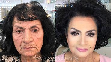 Artysta potrafi zdziałać cuda. Jego makijaże odmładzają optycznie o kilkadziesiąt lat