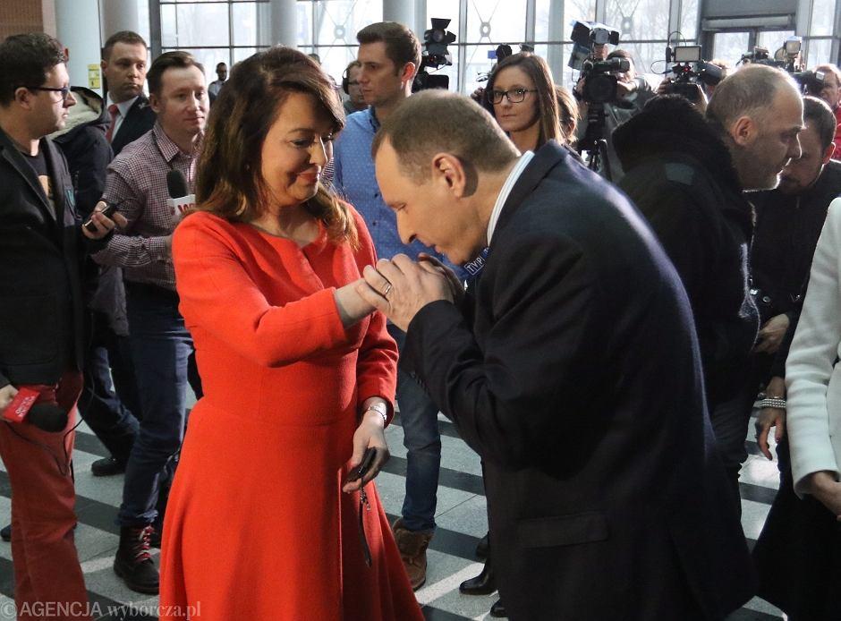 Danuta Holecka w drużynie Jacka Kurskiego w TVP