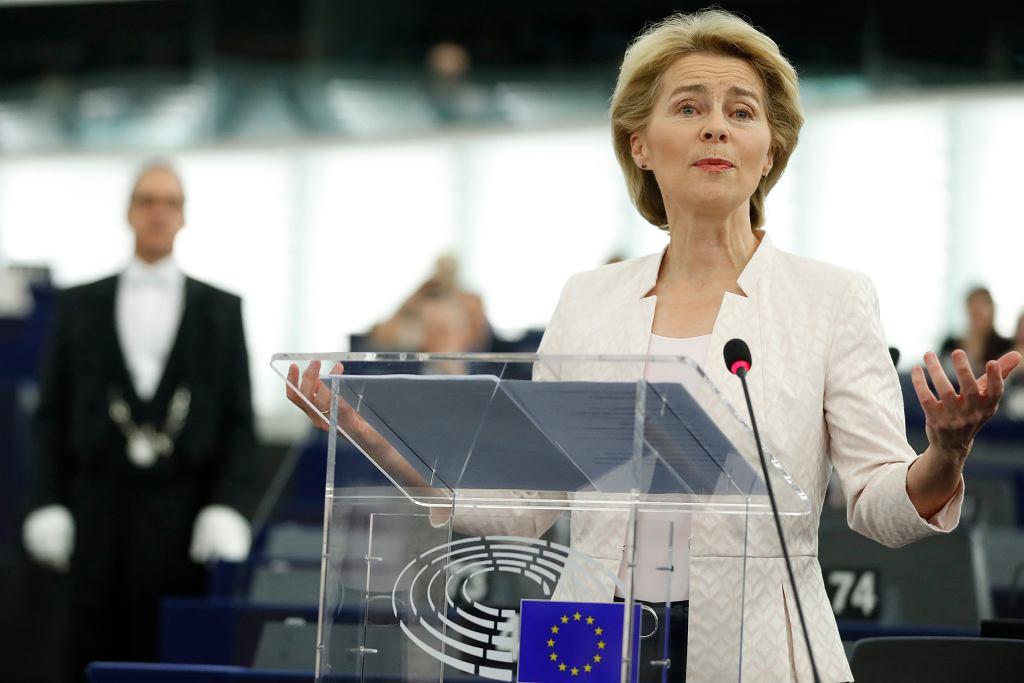 Debata przed głosowaniem nad kandydaturą Ursuli von der Leyen na szefową KE