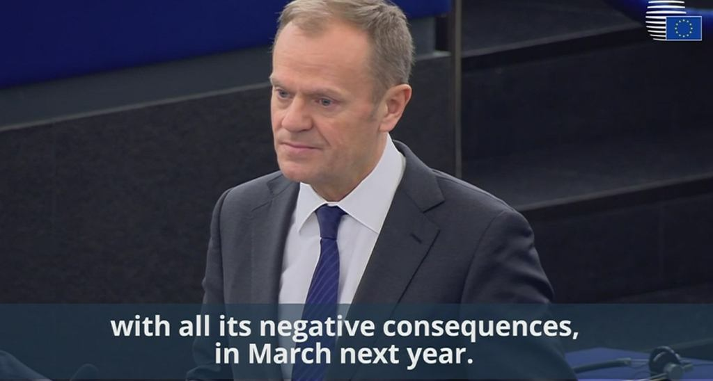 Donald Tusk o brexicie