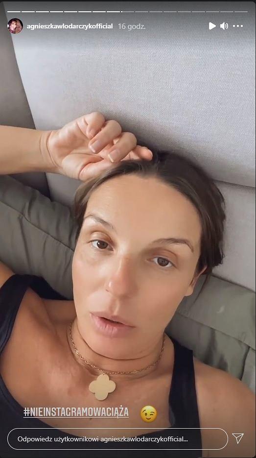 Agnieszka Włodarczyk zaczyna odczuwać dolegliwości ciążowe
