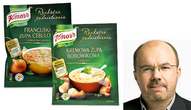 testowane matuszewskim, Testowane Matuszewskim: nowości smaczne i ohydne, Knorr, zupa cebulowa, krem z borowików, cena: 53 g - 2,99 zł