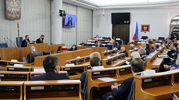 Posiedzenie  Senatu X Kadencji