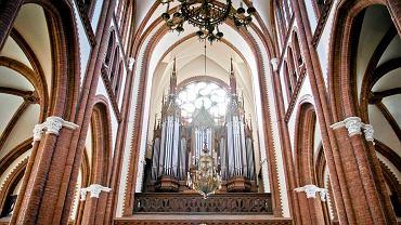 Kościół farny. Zabytkowe organy