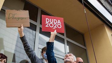 Andrzej Duda odwiedził w czwartek Katowice