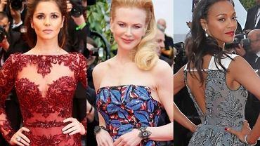 Nicole Kidman, Cheryl Cole, Zoe Saldana