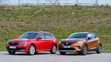 Skoda Kamiq 1.5 TSI vs. Renault Captur 1.3 TCe