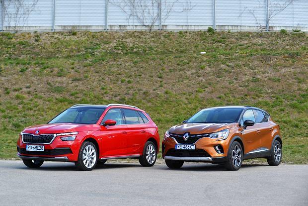 Opinie Moto.pl: Skoda Kamiq 1.5 TSI vs. Renault Captur 1.3 TCe. Walka o czołówkę segmentu B
