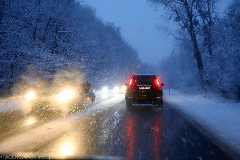 Pogoda nie rozpieszcza kierowców