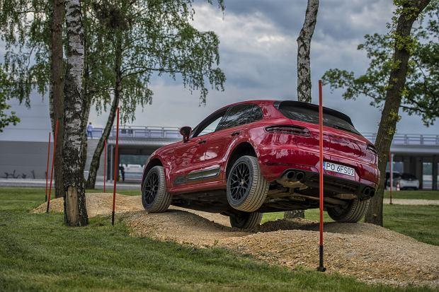 Porsche Macan w akcji