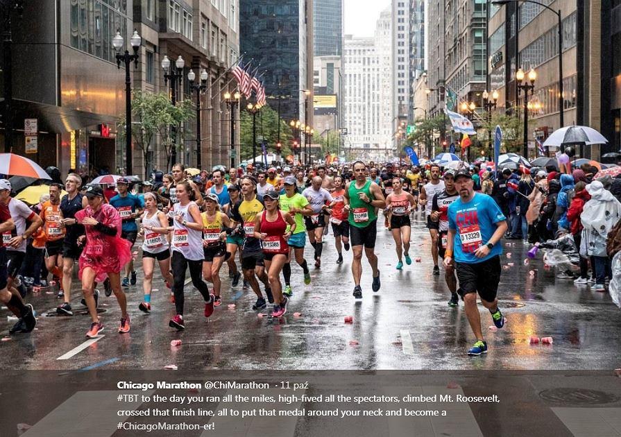 70-latka pobiła rekord świata na maratonie w Chicago