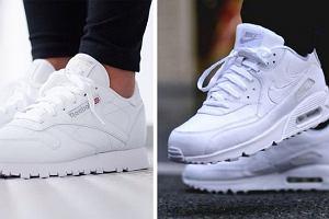 Białe buty sportowe z wyprzedaży - Nike Air Max, Adidas Superstar i Reebok Classic