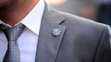 Funkcjonariusz Służby Ochrony Państwa (zdjęcie ilustracyjne)