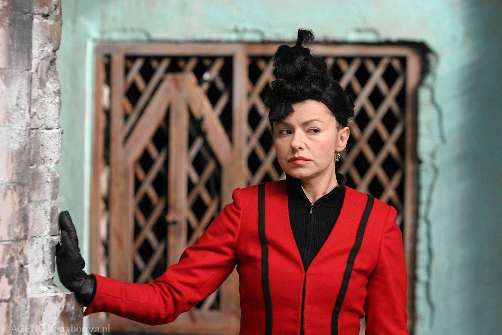 Aleksandra Konieczna jako Lady Makbet w spektaklu Grzegorza Jarzyny / BARTOSZ BOBKOWSKI