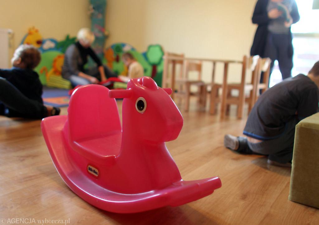 Sala zabaw w przedszkolu - zdjęcie ilustracyjne