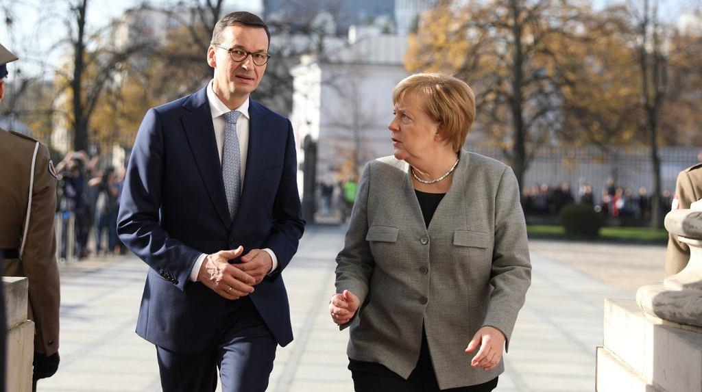 Angela Merkel w Warszawie, 2.11.2018