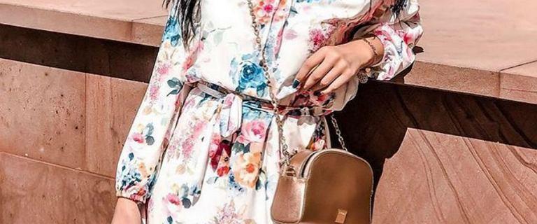 Kwieciste sukienki na jesień. Fasony, w których poczujesz się pięknie i kobieco