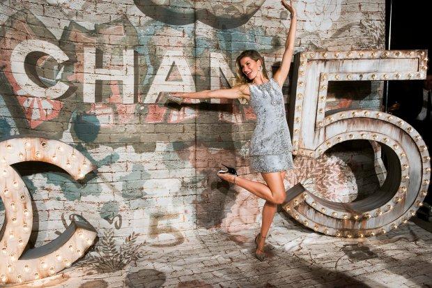 Gisele Bundchen attends the Chanel dinner celebrating No. 5 - The Film