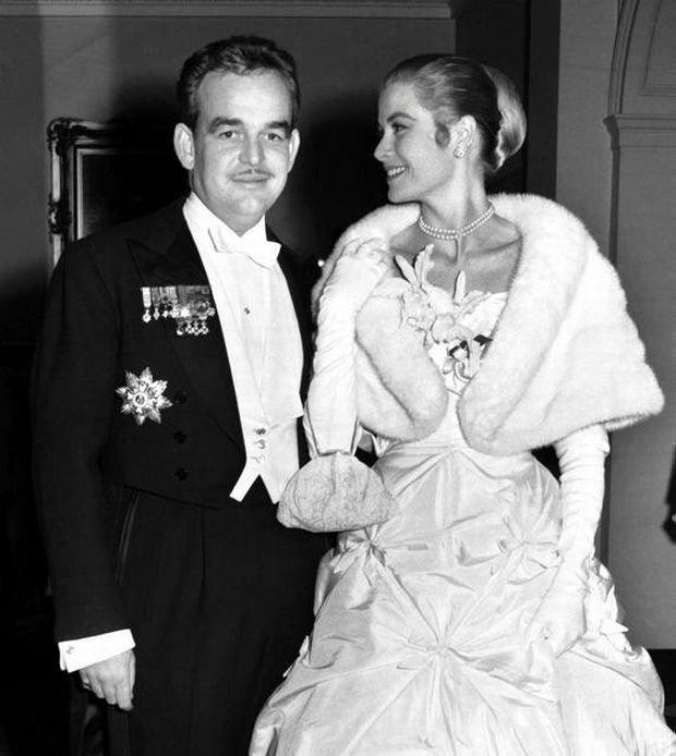 Rainier III, Grace Kelly