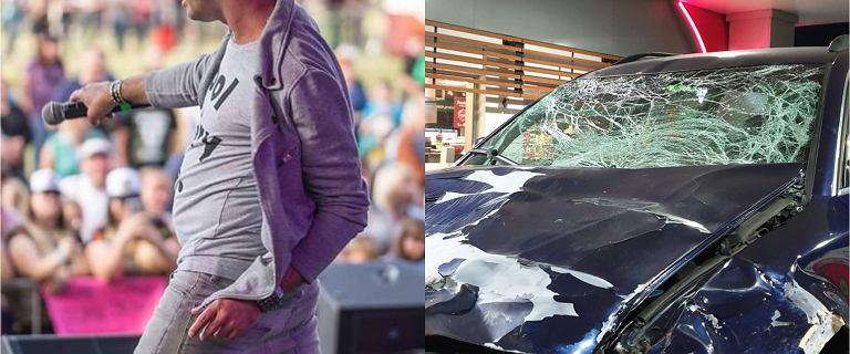 Gwiazdorzy disco polo mieli poważny wypadek samochodowy