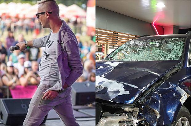 Członkowie zespołu disco polo Boma mieli wypadek samochodowy. Uderzyli w jelenia, który wyskoczył im na drodze.