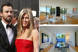 Jennifer Aniston i Justin Theroux i nowy dom